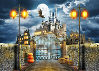 Pterodactyl Castle Halloween 300pcs Jigsaw Puzzle Adult Kid Educational Toy Gift