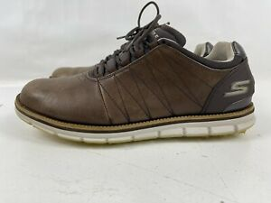 Skechers Performance Go Golf Elite Spikeless Shoes Style 53530 Brown Size 9