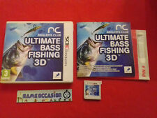 ANGLER'S CLUB ULTIMATE BASS FISHING 3D NINTENDO 2DS 3DS COMPLETE PAL FR