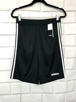 Adidas Men's Black Design 2 Move Climacool 3-Stripes Shorts DT3050 New with tags