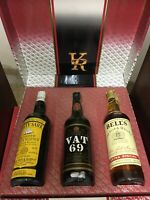 CUTTY SARK - VAT 69 - BELL'S Old Scotch Whisky Extra Special Cl 75 40% Vintage