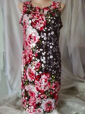 Stunning Black red Silver xmas christmas Party dinner celebration DRESS size 20