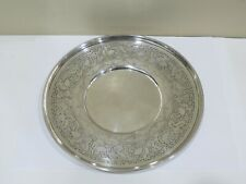 Antique Weidlich Sterling Spoon Company Sterling Silver Tray