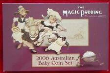 2006 Australian Baby Six Coin Proof Set The Magic Pudding