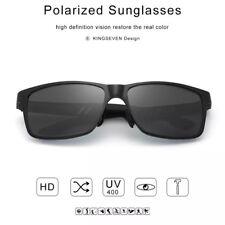 KINGSEVEN Hombres gafas de Sol Polarizadas De Aluminio Magnesio uv proteccion
