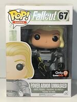 Pop! Games: Fallout - Power Armor Unmasked - Game Stop #67