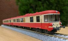 X4300 EAD Autorail Railcar DCC SOUND HO 2 car Set SNCF caravelle 10 038S rare