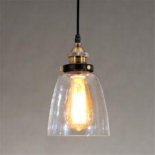 Glass Pendant Light Kitchen Modern Ceiling Lights Bar LED Lamp Bedroom Lighting