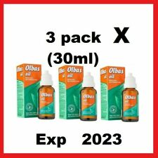 3xOlbas Oil 30ml - Inhalant Decongestant,