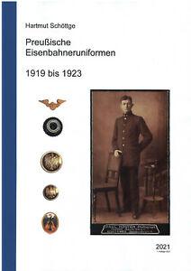 Preußische Eisenbahneruniformen 1919 bis 1923