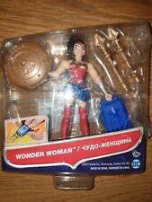 """Justice league wonder woman figure. DC comics 4.5"""" action figure. sealed damage"""