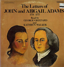 2 LP The Letters of John and Abigail Adams - George Grizzard, Kathryn Walker