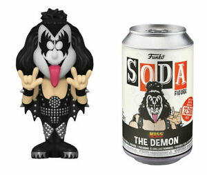 Funko Soda Figure - The Demon KISS Collectible Figure (Find The Glow Chase)