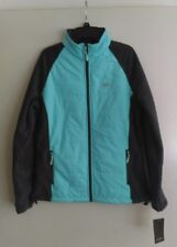New Balance Premium Micro Fleece Women's Jacket in Turquoise / Gray Size XLarge