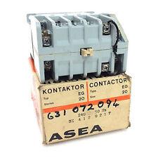 Contactor SK-412-0217 ASEA 240VAC 9kW EG-20 SK4120217
