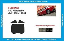 window tint glass Ferrari 550 Maranello from 1996-2001 set rear