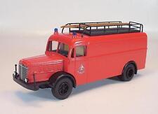 Märklin 18753 Büssing 650 Feuerwehr Gerätewagen OVP #1585