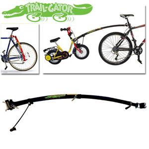 Trail-Gator Child Bicycle Tow Bar - Black 3.2kg