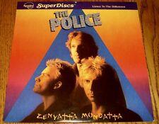 THE POLICE ZENYATTA MONDATTA NAUTILUS SUPER DISC LP 1980