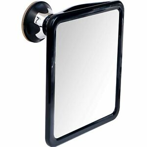 "2019 Shatterproof Fogless Shower Mirror with Suction Cup, 9"" x 8"""