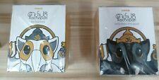 COARSETOYS JPX x COARSE KACHAPATI Vinyl Black and White figure set TTE