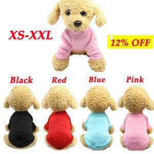 Pet Dog Fleece Coat Hoodie Puppy Warm Cat Jacket Vest Apparel Chihuahua Sweater