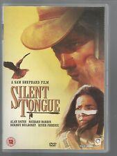 SILENT TONGUE - UK REGION 2 DVD - Alan Bates / Richard Harris / River Phoenix