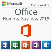 Microsoft Office Home and Business 2019 for Windows|Mac, 1 User