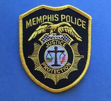 Rare Memphis Police Collectable Iron On Shoulder Patch Crest