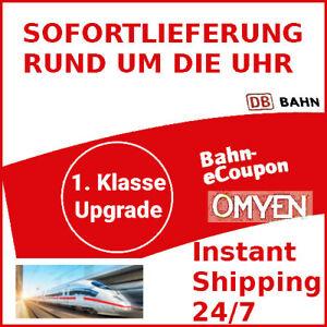 ✅ DB 1. Klasse Upgrade Gutschein eCoupon Deutsche Bahn ✅ 24/7 Sofort Versand ✅