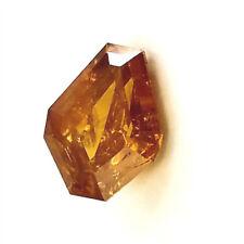 0.69 CT Diamond Fancy DEEP ORANGE COLOR GIA Certified Natural Loose Shield Cut