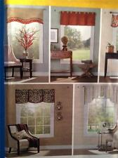 "Simplicity Sewing Pattern 0617 Valances for 36""-40"" Wide Windows Uncut"