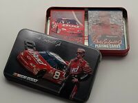 NASCAR 2000 Dale Earnhardt Jr. #8 2 Decks BICYCLE Playing Cards in Collector Tin