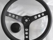 "13.5"" Foam Grip Steering Wheel Grant 338 Style APC 3 Spoke Black Deep Dish"