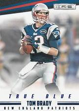 2012 Rookies and Stars True Blue #83 Tom Brady Patriots