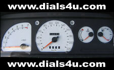 FORD ESCORT Mk4 (1986-1990) - 220km/h - WHITE DIAL KIT