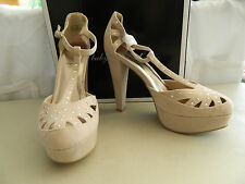 Baby Phat New Womens Cady Blush Platform Heels 8.5 M Shoes