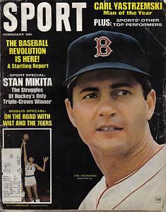 1968 (Feb.) Sport Magazine, Baseball, Carl Yastrzemski, Boston Red Sox ~ Good