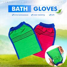 Exfoliating Shower Bath Glove Wash Skin Spa Massage Body Back Scrub Scrubber New