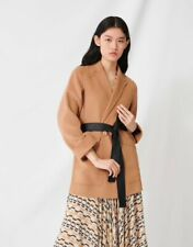 Brand New Maje Camel Belted Coat