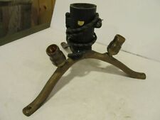 Antique 1920'S - Cast Iron - Lighted Christmas Tree Stand - Tripod - Heavy! old
