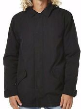 Men's BILLABONG Venture Black Winter Jacket Anorak, Size S. NWT, RRP $169.99.