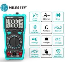 Mileseey Digital Voltmeter Ammeter Ohmmeter Multimeter Volt Ac Dc Tester Meter