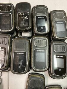 LOT OF 10 AT&T SAMSUNG RUGBY 3 SGH-A997 RUGGED WATERPROOF  POOR CONDITION Lock