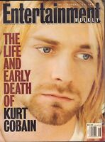 Entertainment Weekly April 1994 The Life & Early Death of Kurt Cobain 011217DBE