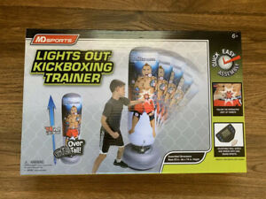 MD sports lights out kickboxing trainer Over 6 Ft Tall, Ages 6+ New In Box