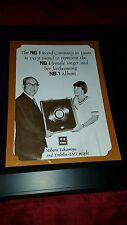 Helen Reddy Japan Emi Rare Original Promo Poster Ad Framed!