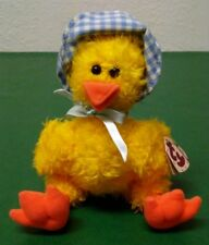 Ty Baby Chick Bonnie 1993 With Swing Tag & Jointed Arms & Legs. From & To Tag
