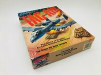Tac Air Avalon Hill Bookcase Board Game War Land Air Battles Seams NOT Complete