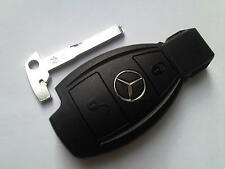 GENUINE MERCEDES BENZ CLASS E S C SLK CLK COUP VITO ETC 2B REMOTE UNCUT KEY FOB